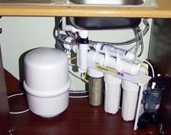 Установка фильтра очистки воды в Минусинске, подключение фильтра очистки воды в г.Минусинск
