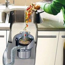 Установка измельчителя пищевых отходов в Минусинске, подключение измельчителя пищевых отходов в г.Минусинск